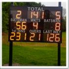 Large Club Electronic Cricket Scoreboard