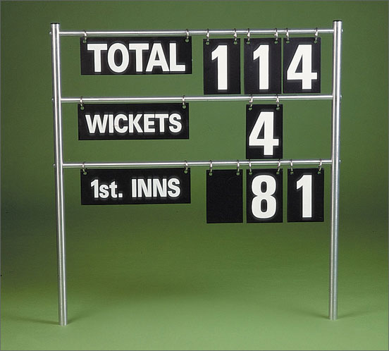 FLGP2 OVER CRICKET SCOREBOARD