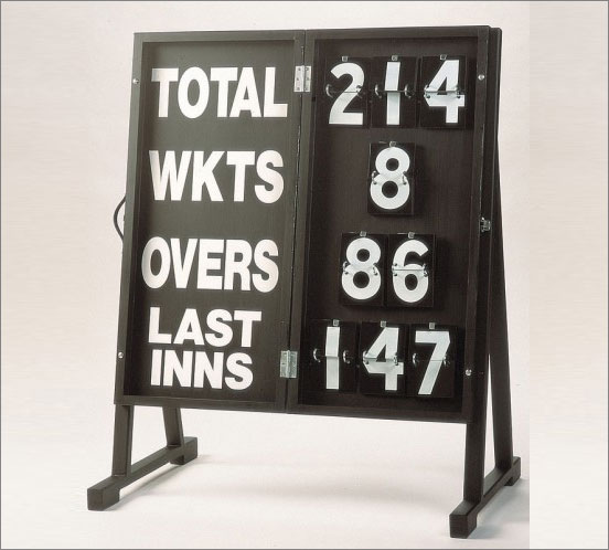 Porta Score Cricket Scoreboard. Home & Professional Cricket Equipment