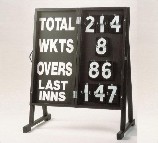 Porta Score Cricket Scoreboard. Home & Professional Cricket Equipment