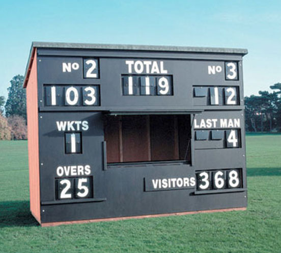 JUNIOR CrICKET SCOREBOX