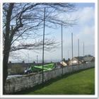 Cricket Boundary Ball Stop Nets Installation