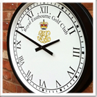 Cricket pavillion clock