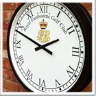 Cricket pavillion clock