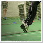 Artificial cricket pitch construction installation for for Indoor cricket net design