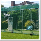Residential Steel Cricket Practice Cage Area