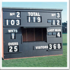 Junior Cricket Scorebox Facia