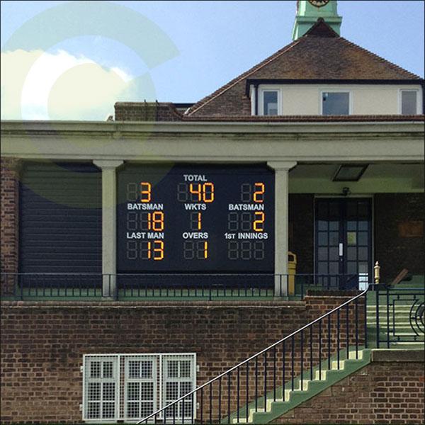custom made cricket scoreboard
