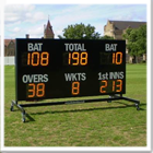 Mobile Electronic Cricket Scoreboard
