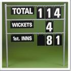 FlGP2 Over Portable Cricket Score Board