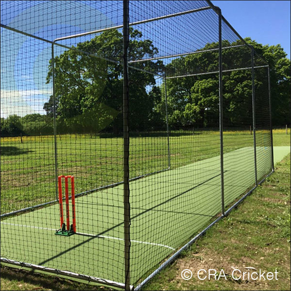 Freestanding cricket cage nets