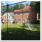 Freestanding Steel Caged Practice Nets Area
