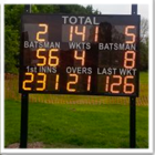 Large Club Electronic Cricket Scoreboard