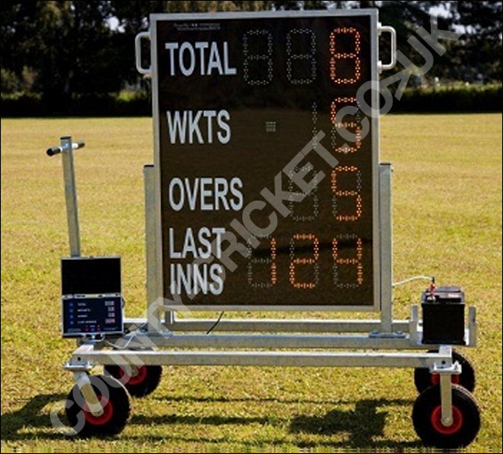 Mobile Digital Cricket Scoreboard