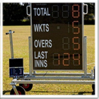 Mobile Digital Cricket Scoreboard