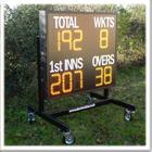 Mobile Electronic Cricket Scoreboard
