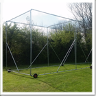 Portable Steel Cricket Practice Net Cages