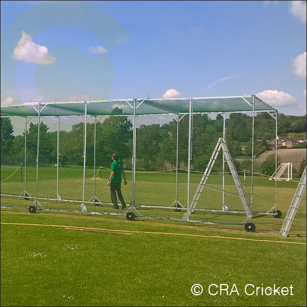 STEEL CRICKET NET CAGE CONSTRUCTION