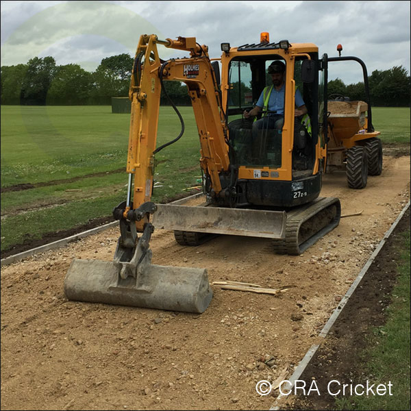 SCHOOLS CRICKET PITCH INSTLLATION