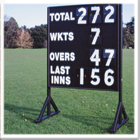 Standard Wooden Cricket Score Board
