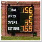 Wall Mounted 240v Cricket Scoreboard